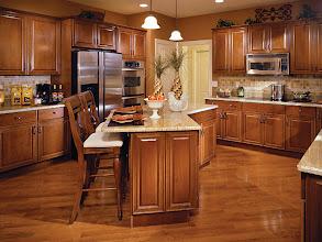 Photo: The kitchen in our award-winning SAXON GRAND model home at Addison Estates