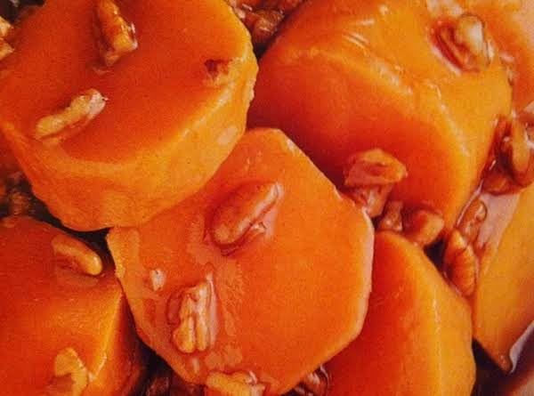 Apricot-glazed Sweet Potatoes Recipe