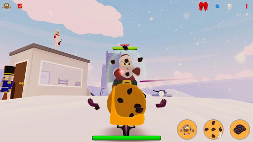 Cookies vs. Claus - screenshot