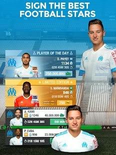 Olympique de Marseille Fantasy Manager 18- screenshot thumbnail