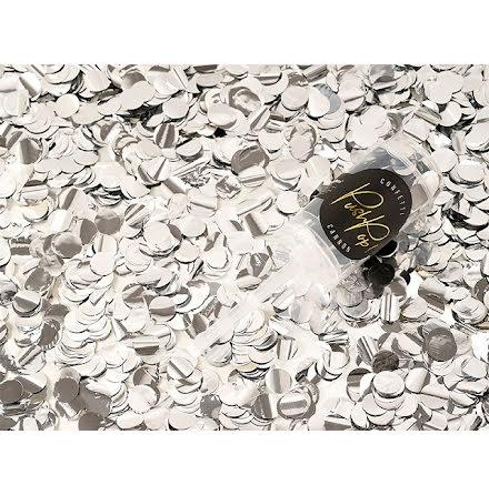 Konfetti push-up - silver