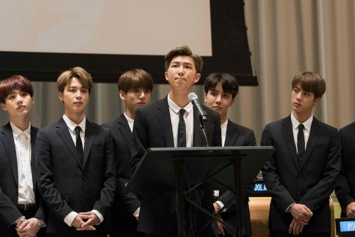 BTS At the UN
