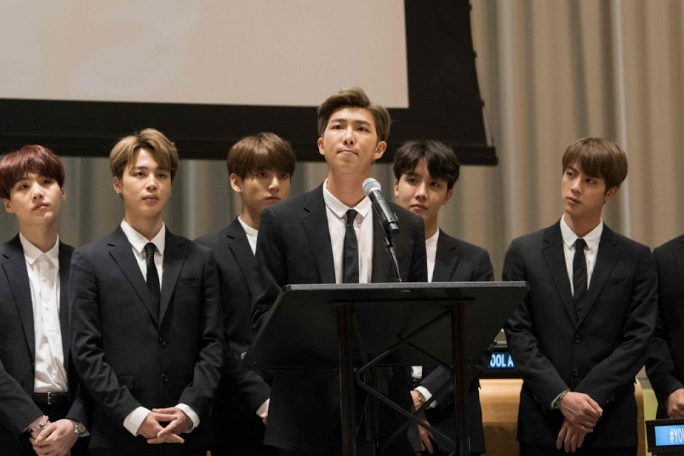BTS At the UN