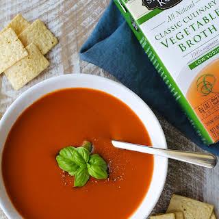Vegan Tomato Soup.