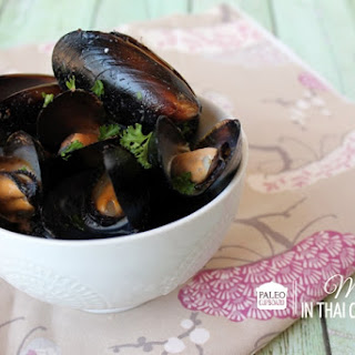 Paleo Mussels in Thai Curry Sauce Recipe