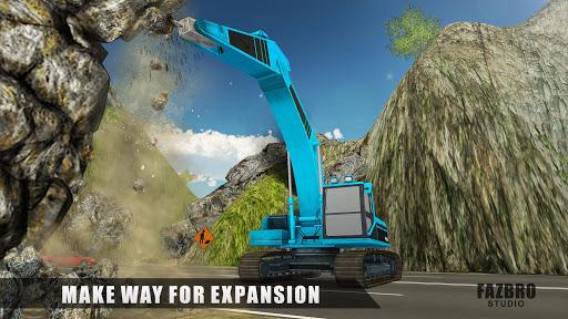 Heavy Excavator Rock Mining Stone Cutter Simulator 4.2 screenshots 7