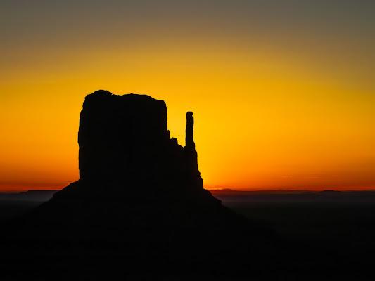 Alba nella Monument Valley di VIC61