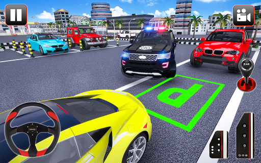 Police Parking Adventure - Car Games Rush 3D apkpoly screenshots 5