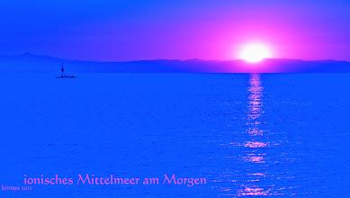 Photo: Sonnenaufgang am Mittelmeer