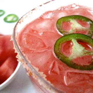 Watermelon Jalapeno Margaritas.