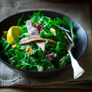 Kale Caesar Romano With Almonds {gluten Free}