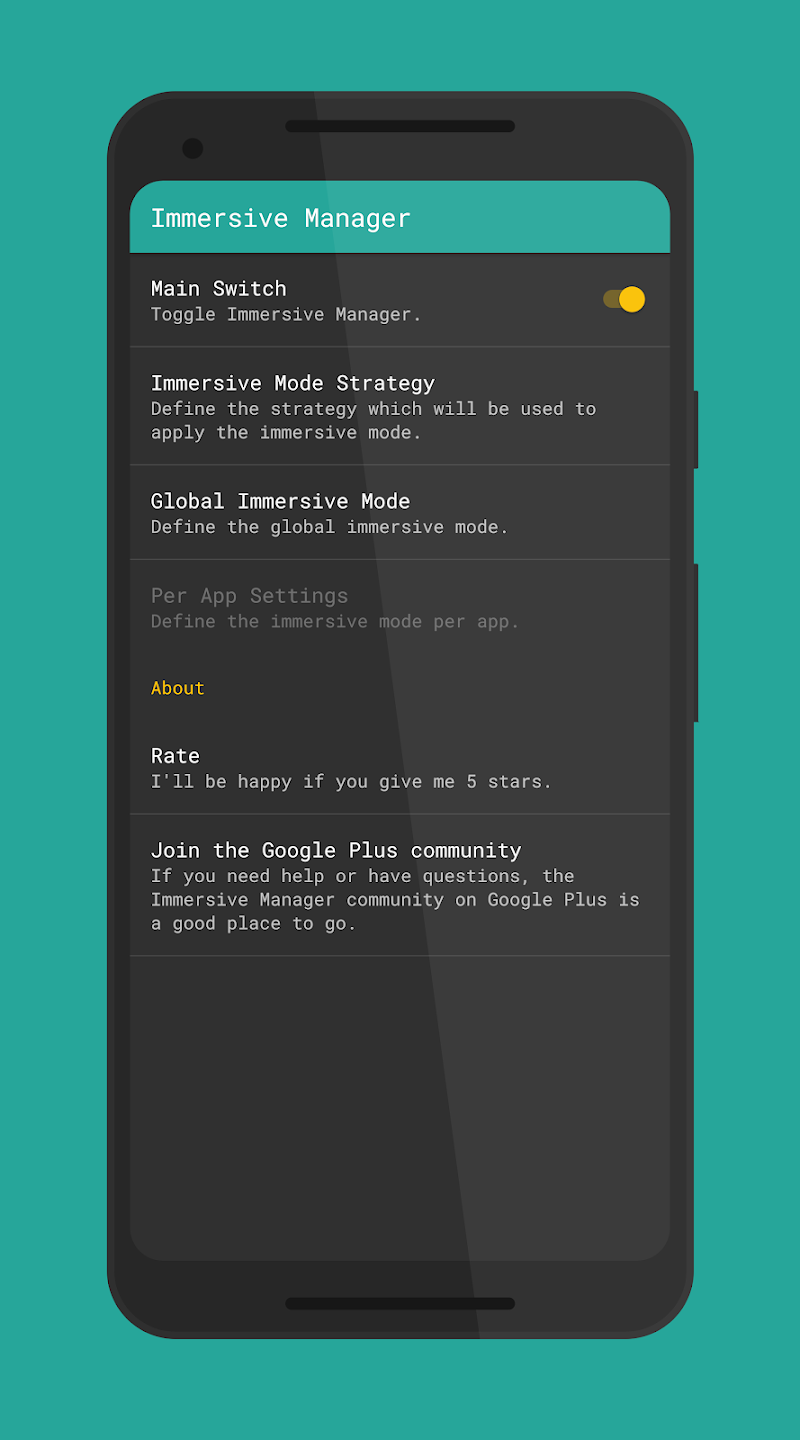 Immersive Mode Manager APK Cracked Free Download   Cracked