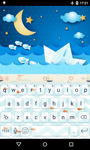 Emoji Keyboard-Little Fish