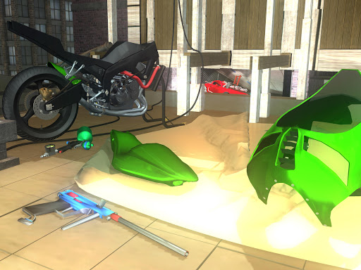 Fix My Motorcycle: Bike Mechanic Simulator! LITE 90.0 screenshots 13