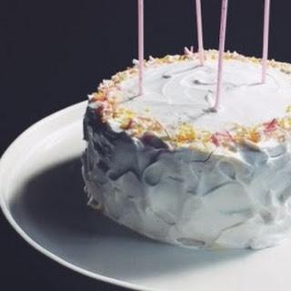 Vegan Vanilla Cake with Coconut Cream Frosting