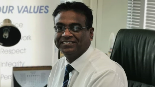 Dr Valanathan Munsami, CEO of the South African National Space Agency.
