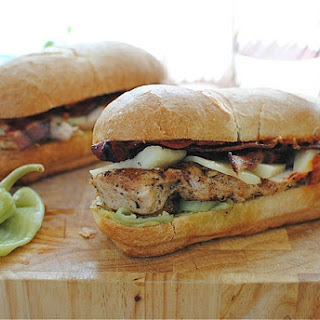 Loaded Italian Chicken Sub Sandwiches