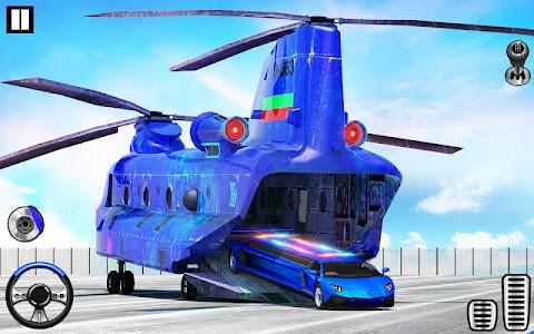 US Police Limo Transport, Aeroplane transport Game 1.0.56