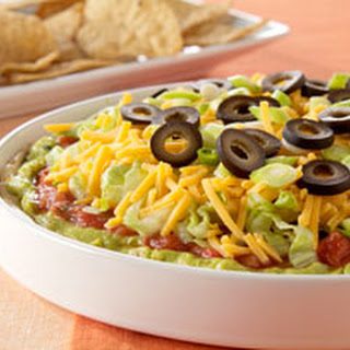 Philadelphia 7-Layer Mexican Dip.