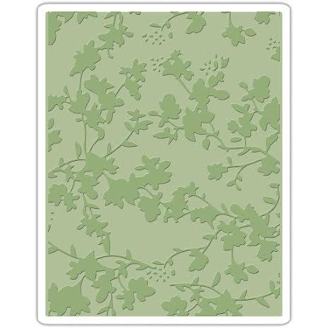 Tim Holtz Sizzix Texture Fades Embossing Folder - Floral
