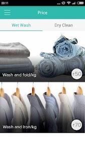 BookMyWash - laundry services screenshot 1