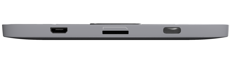 Нижняя грань электронной книги PocketBook 616 Silver