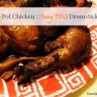 Crock-Pot Chicken Honey BBQ Drumsticks