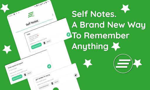 Self notes screenshot 1