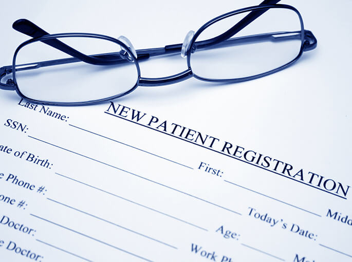 becoming a new patient is easy