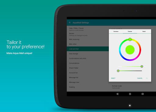 MobiSystems AquaMail - Email App 1.14.2-840 screenshots 19