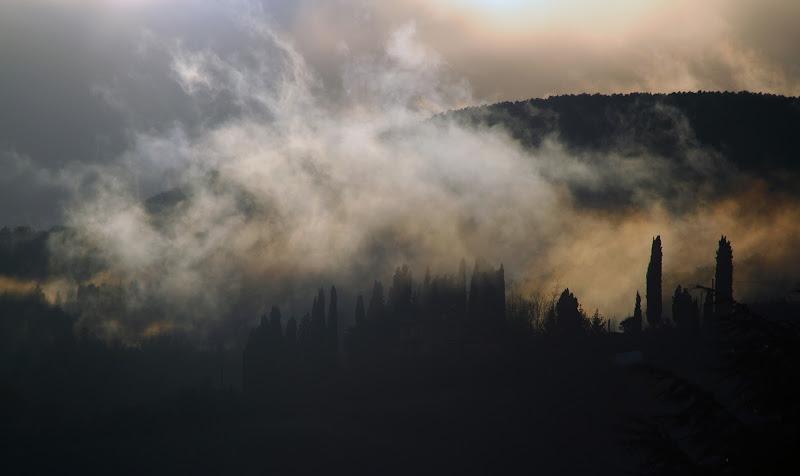 Nebbia in collina di lucianalu