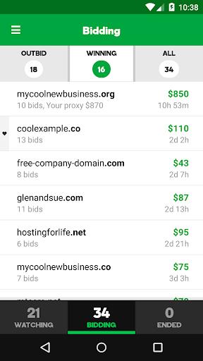 GoDaddy Investor for PC