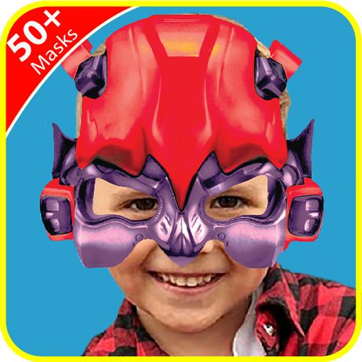 Red Robot Transformer Photo Stickers Android APK Download Free By Pixo Plus