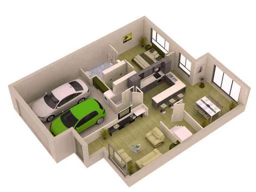 3D小的家庭计划设想