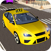 Speed Driving Taxi Games 3D