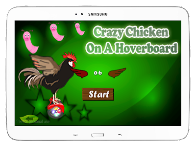 Crazy Chicken On A Hoverboard screenshot 10