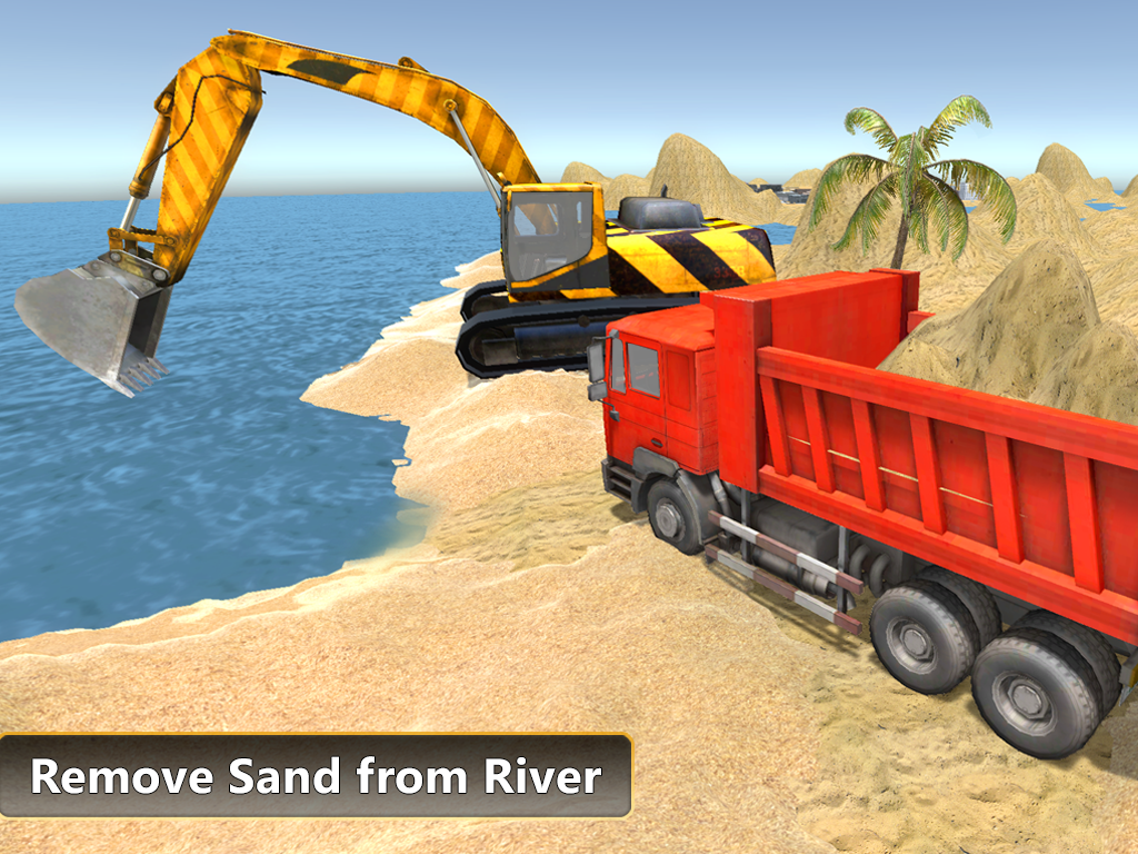 heavy excavator dump truck 3d android apps on google play