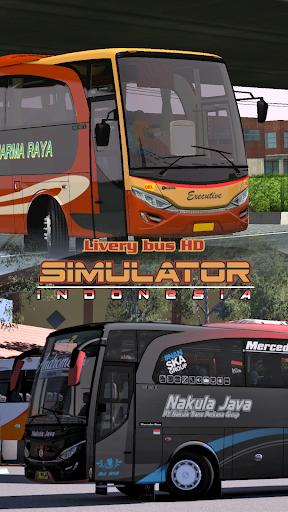 Livery Bus HD Simulator Indonesia 1.2 screenshots 1