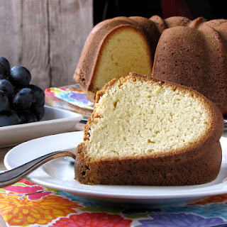 Browned Butter Pound Cake.