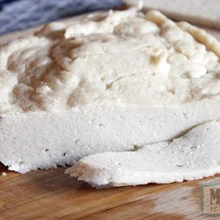Vegan Creamy Garlic Mozzarella