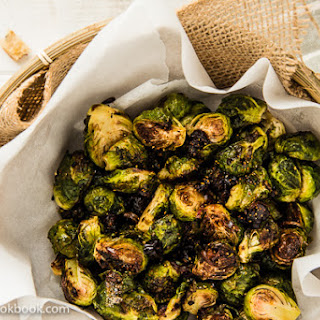 Roasted Brussels Sprouts with Plum Sauce