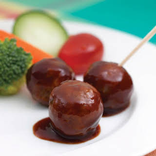 Quick BBQ Meatballs.