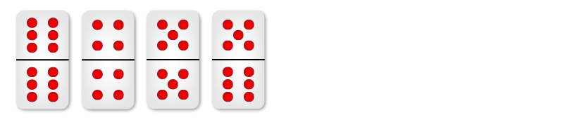 Cara Main Domino Qiu Qiu: Contoh Kombinasi Besar Murni