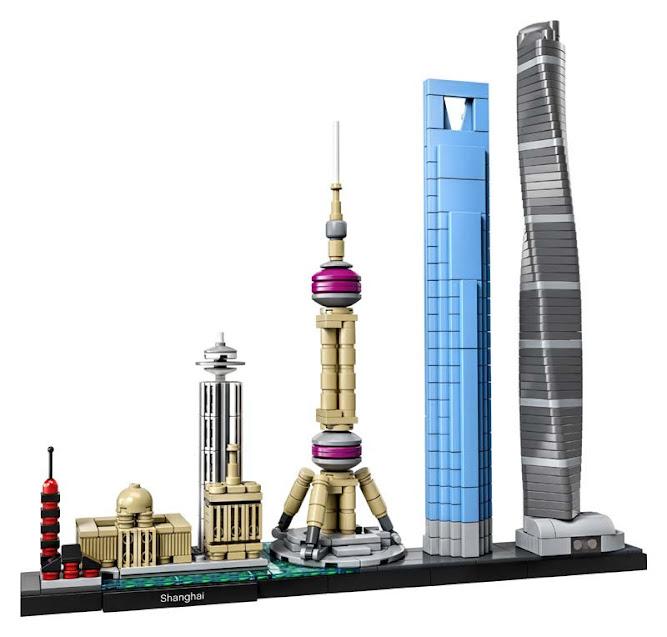 Contenido de Lego® 21039 Shangái