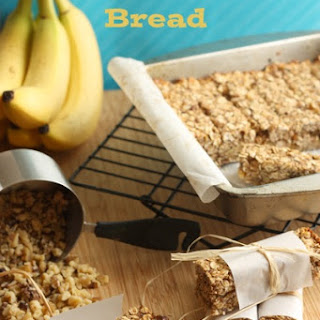 Banana Nut Bread Granola Bars