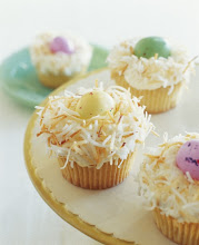 Photo: Easter Egg Nest Cupcakes - For the recipe, go to: http://bit.ly/IcO02p