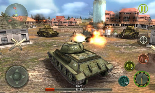 Tank Strike 3D - War Machines 1.5 screenshots 1