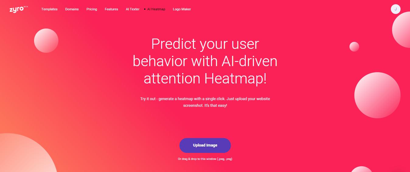 Zyro AI Heatmap