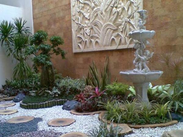 Jasa Kolam Ikan Koi Minimalis Batu Alam Taman Renovasi Rumah