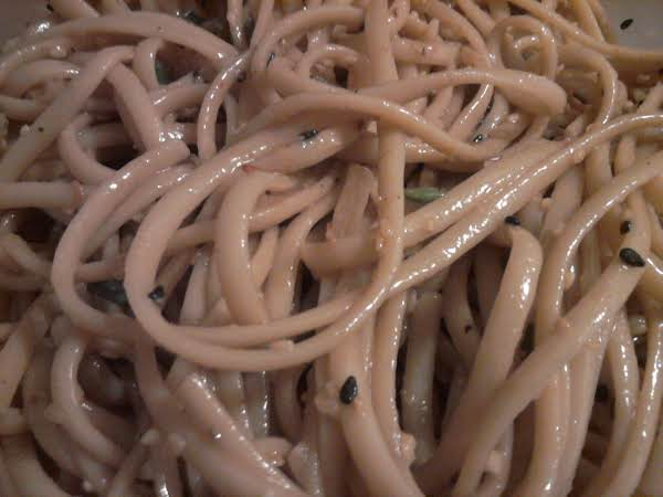 Cold Peanut Sesame Noodles Recipe